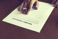 negotiate contracts with vendors