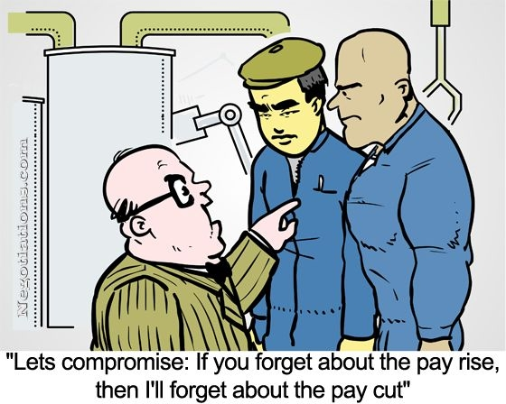 salary negotiation cartoon