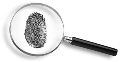 magnify fingerprint